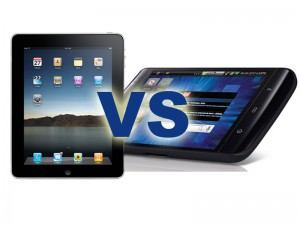 Dell Streak vs Apple iPad